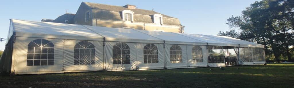 location-richard tente reception